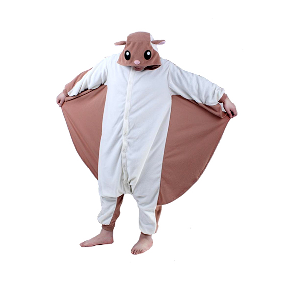 Adult Flying Squirrel Onesie