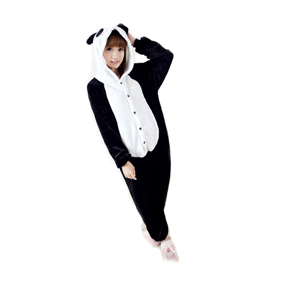 Adult Panda Costume Onesie Jumpsuit  sc 1 st  Funny Onesies For Adults Couples Costumes u0026 Jumpsuits & Adult Panda Costume Onesie Jumpsuit - Funny Outfits