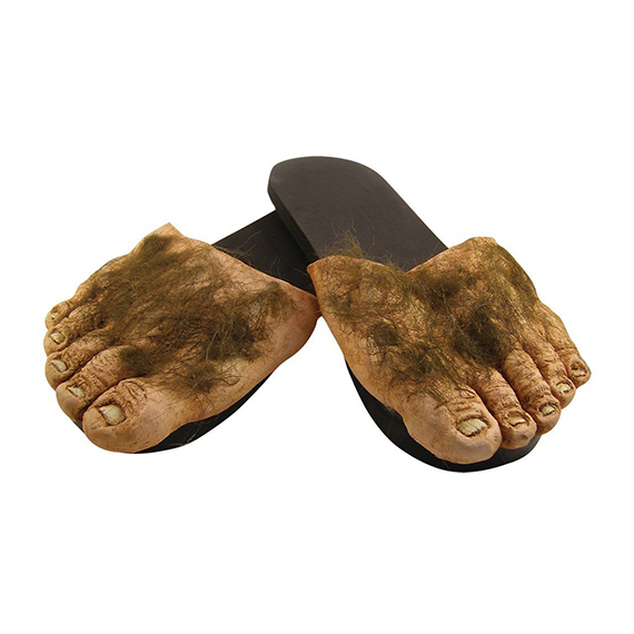 Big Hairy Hobbit Feet Slippers