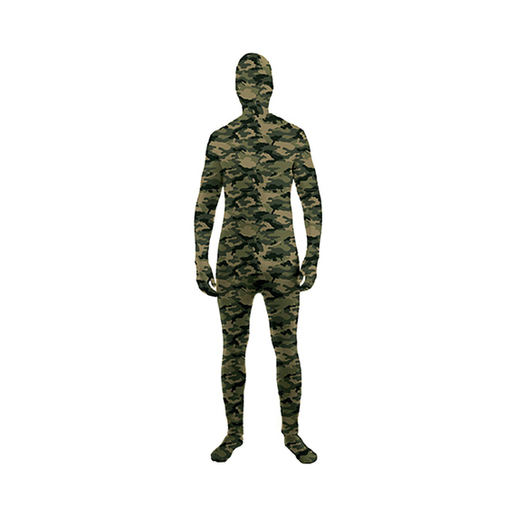 Camouflage Stretch Skinsuit