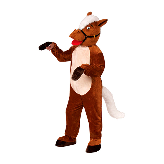 Henry The Horse Plush Mascot Costume