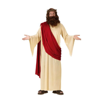 Jesus Costume With Crown and Beard