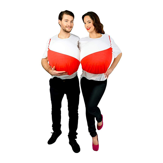 Pair of boobs Couples Costume