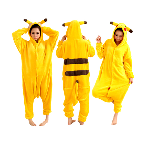 pokemon pikachu onesie funny outfits. Black Bedroom Furniture Sets. Home Design Ideas