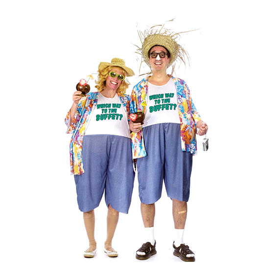 Tacky Traveler Couples Costume