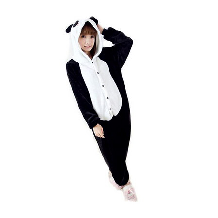 Adult Panda Costume Onesie Jumpsuit