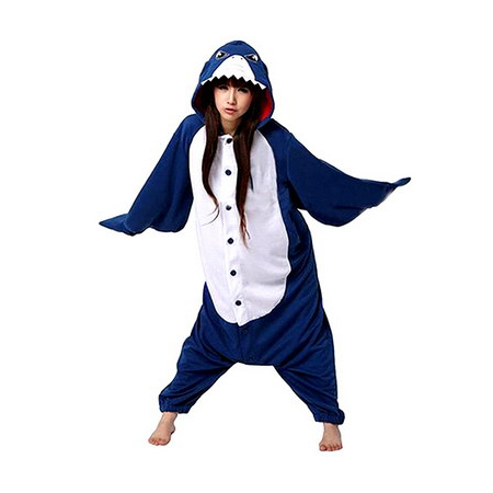 Adult Shark Jumpsuit Onesie