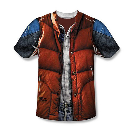 Back To The Future Marty McFly Vest T-Shirt