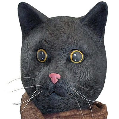 Big Mouth Toys Black Jack The Cat Mask