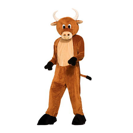 Brutus The Bull Plush Mascot Costume