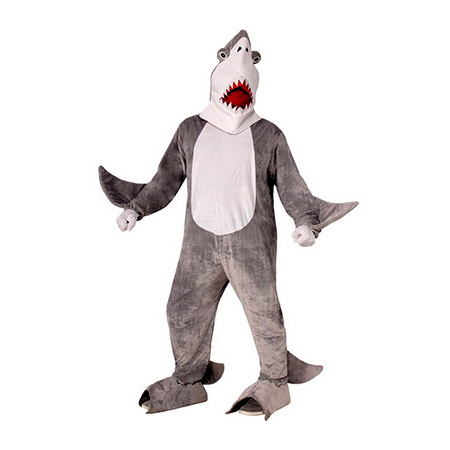 Chomper The Shark Plush Mascot Costume