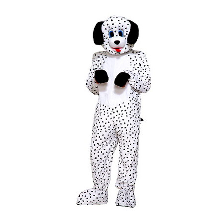 Dotty The Dalmatian Plush Mascot Costume