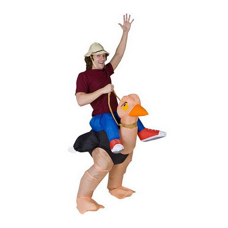 Ostrich Ride Adult Costume