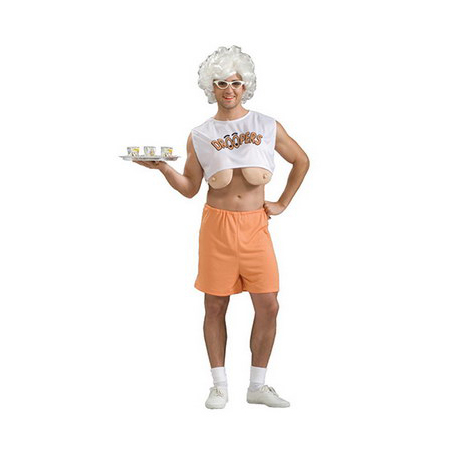 Hooters  Droopers Theme Party Costume