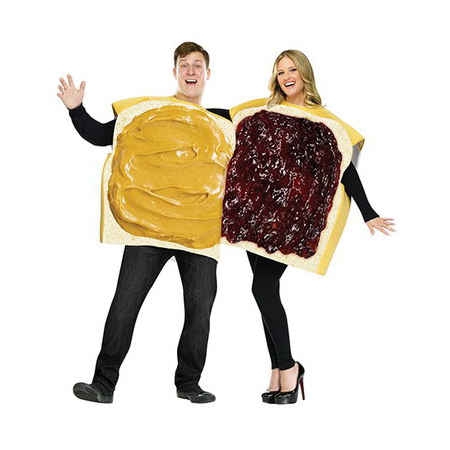 Peanut Butter And Jelly Couples Costume