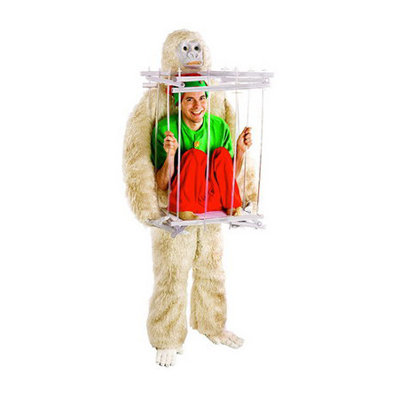 Snowman and Ice Cage Costume Kit