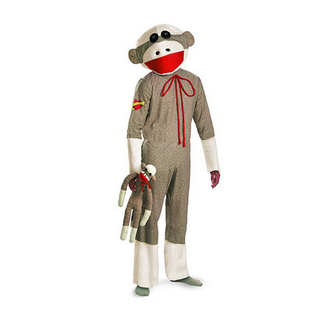 Sock Monkey Jumpsuit