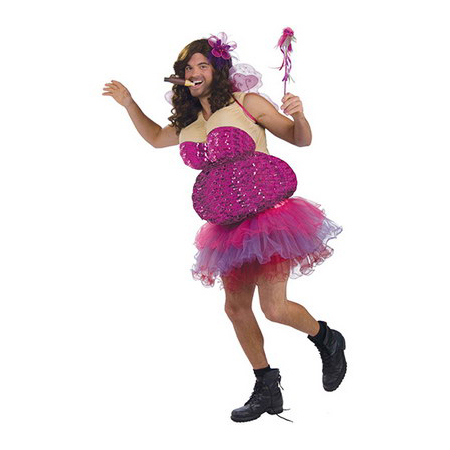 Tutu-Much-Fun Men's Fairy Costume
